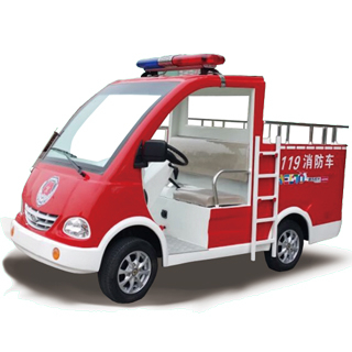 48v indoor electric fire truck for kids