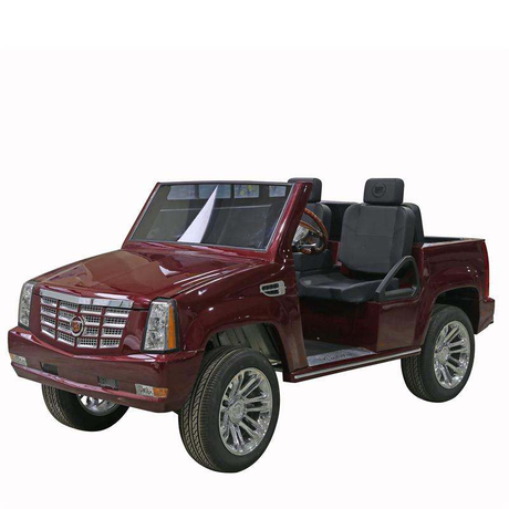 4 wheel drive 4 seats electric cadillac jeep