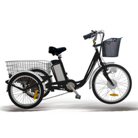front drive three wheel trike electric for bulk shopping